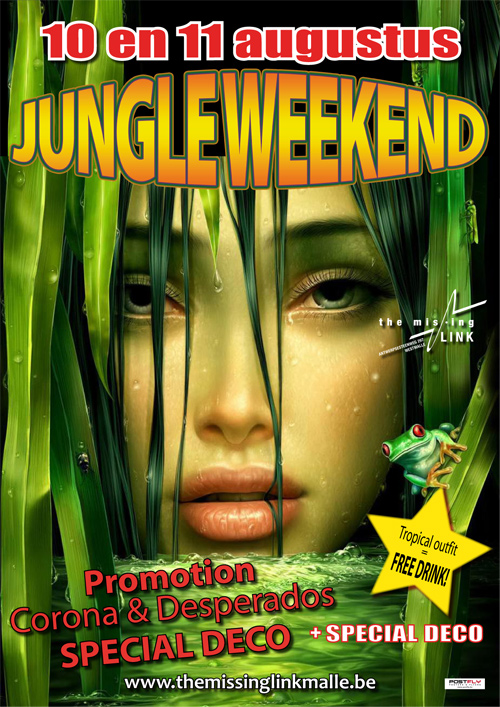 Jungle Weekend // Promotion CORONA & DESPERADOS // SPECIAL DECO