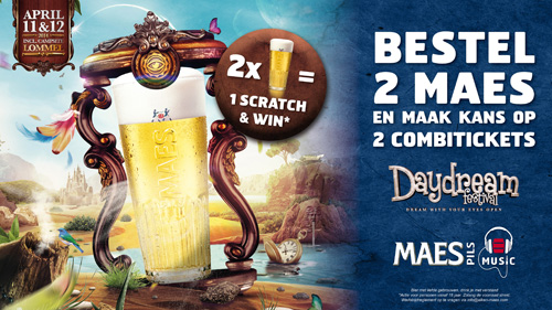 Maes Actie!!! DayDreamFestival 2014