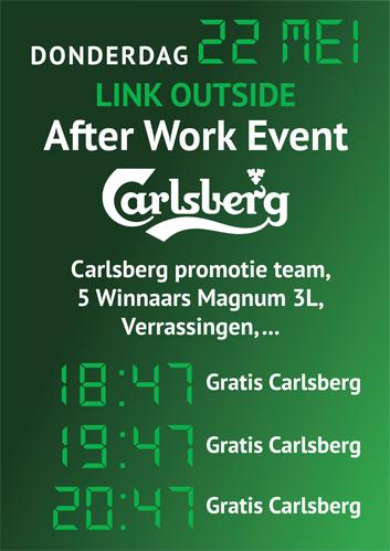 After Work Event / Carlsberg @ Link Outside