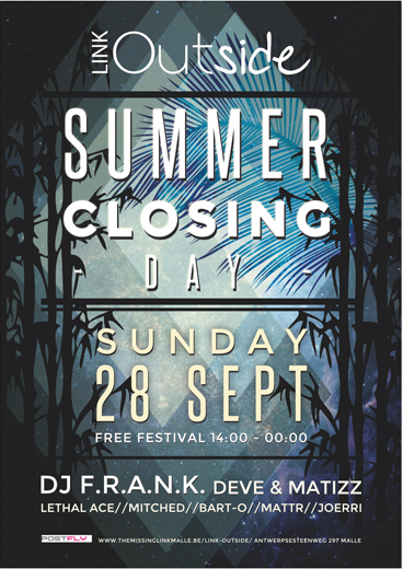 Summer Closing Day // LINK OUTSIDE