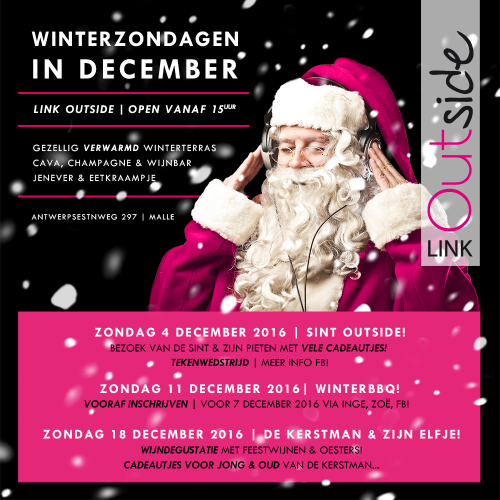 Winterzondagen in December @ Link Outside!