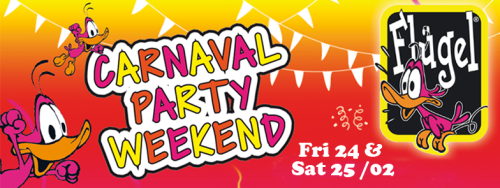 Carnaval Party Weekend!