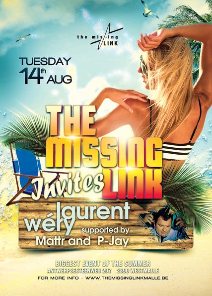 The Missing Link INVITES LAURENT WERY