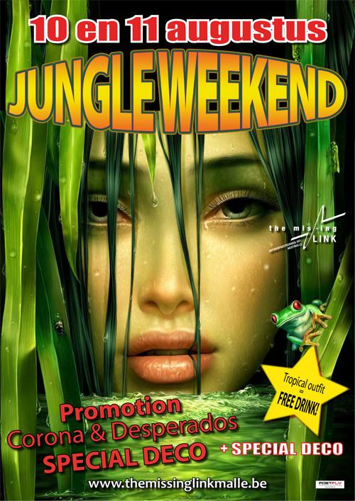 Jungle Weekend // Promotion CORONA & DESPERADOS // SPECIAL DECO