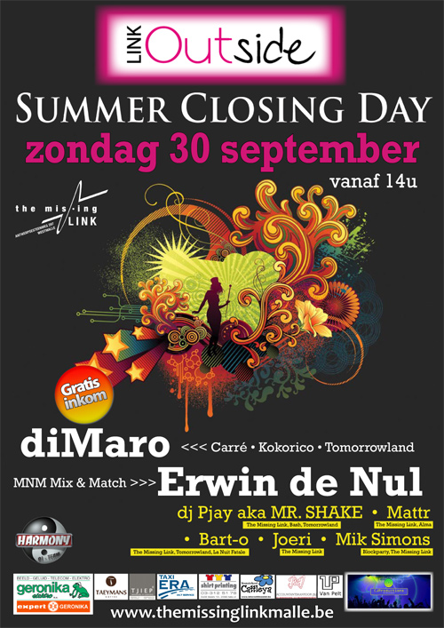 SUMMER CLOSING DAY @ Link Outside