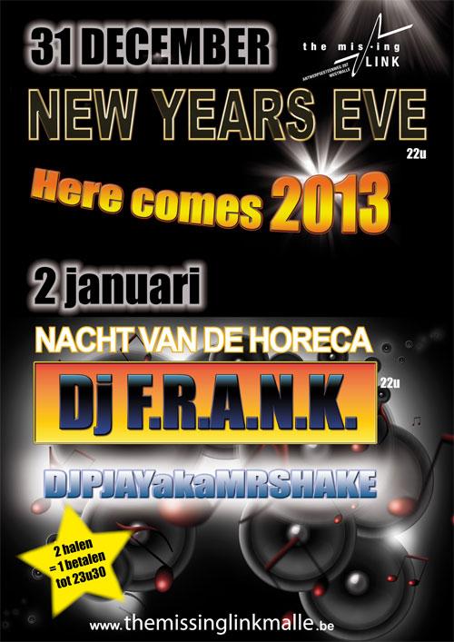 NACHT VAN DE HORECA DJ F.R.A.N.K.