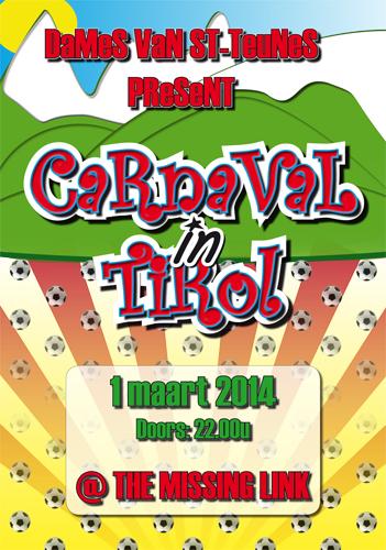 Dames van St-Teunes Present CARNAVAL in TIROL!