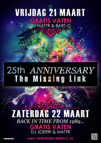 25 Jaar Missing Link!